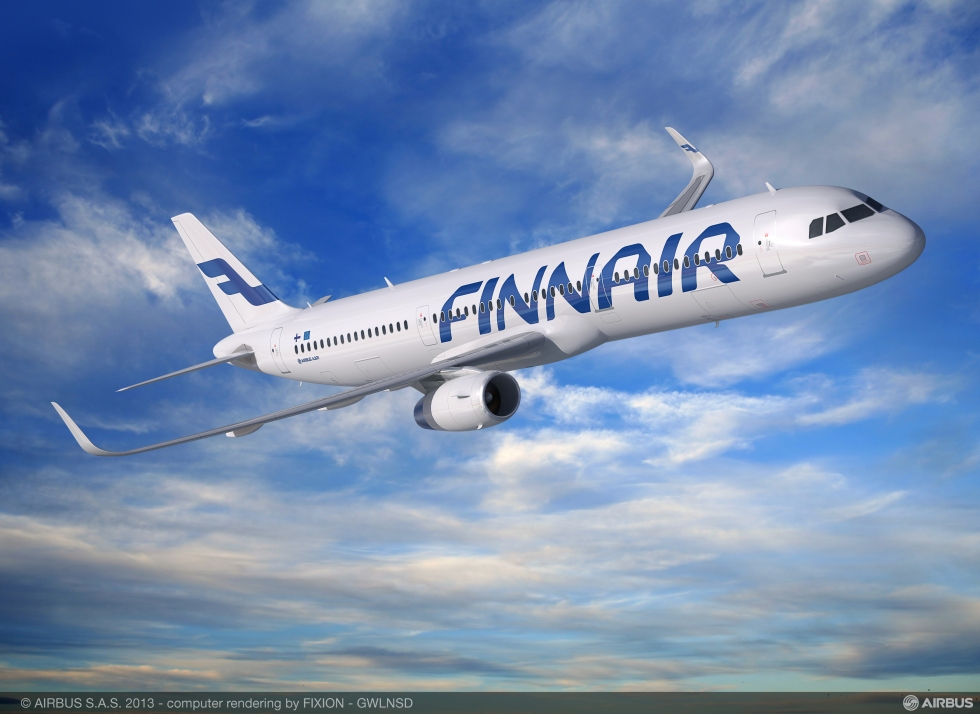 Finnair A321 Sharklet
